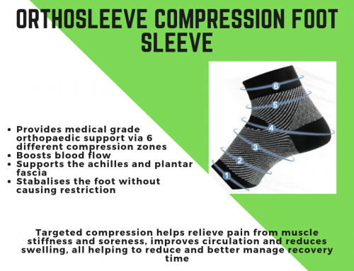 Orthosleeve Foot Compression Sleeve